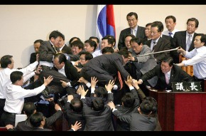 South Korea Establishes Fight Club