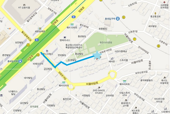 Dorothy Map