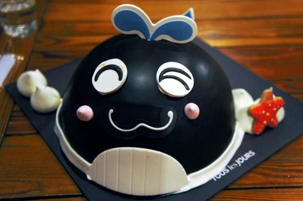 Super Cute Whale Cake
