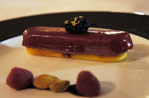 Mulberry Mousse Cake