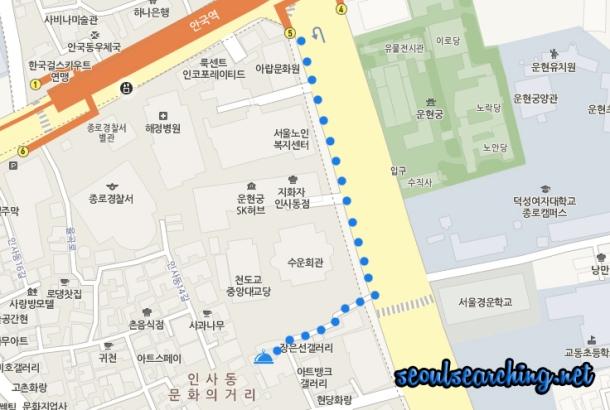 Min's Club Map