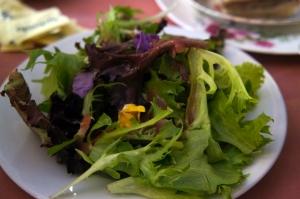 Spring Petal Salad