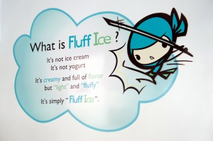 What is Fluff Ice?
