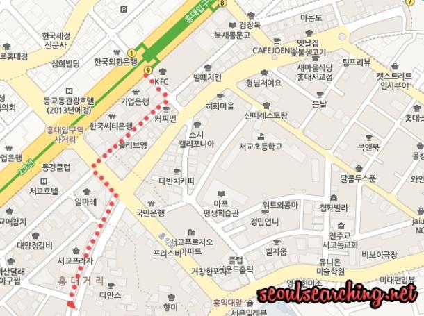 Hong Cup Map