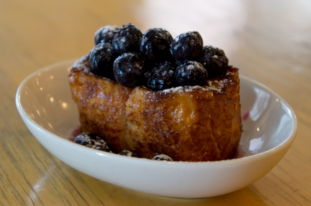 Sugared Blueberry Kiosque French Toast