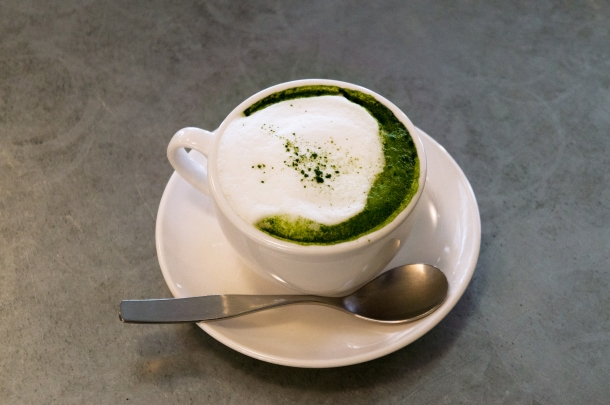 Green Tea Cappuccino