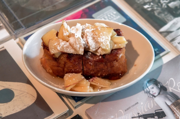 Sugared Apple Kiosque French Toast