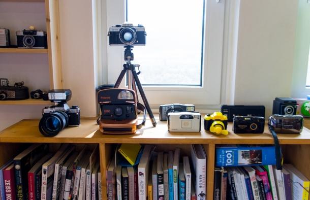 Cameras Galore