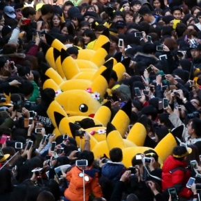 Pokemon Champions Day in Seoul: Pikachu Chaos