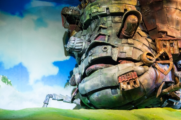Howl's Moving Castle (closeup)