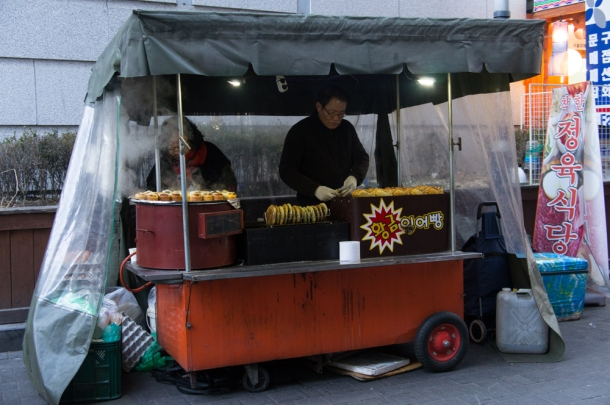 붕어빵 Vendors