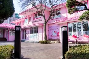 Hongdae's NEW Hello KittyCafe