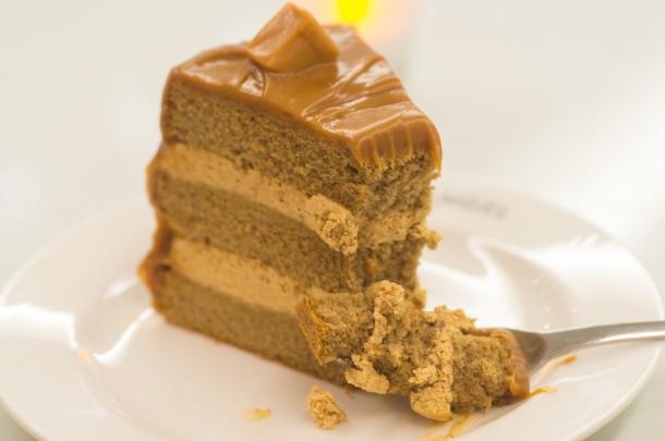 Caramel Cake (closeup)