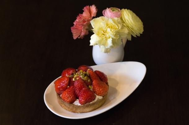 Strawberry Cheese Tart