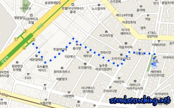 홍콩반점0410 Map