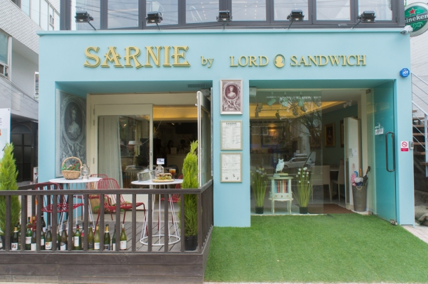 Sarnie by Lord Sandwich