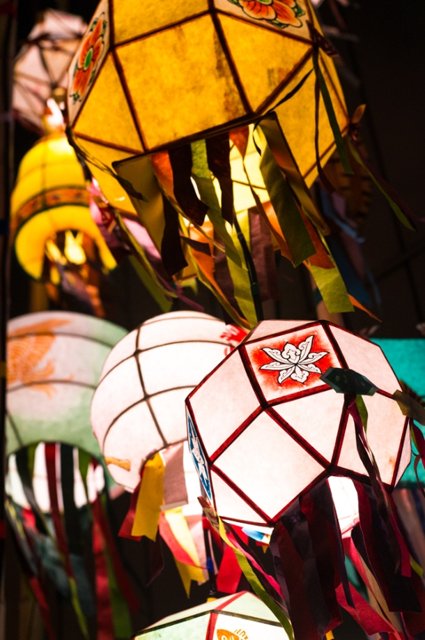 Stringed Up Lanterns