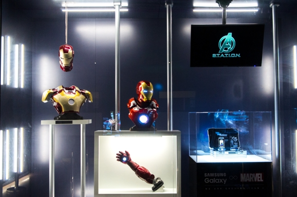 Iron Man Display