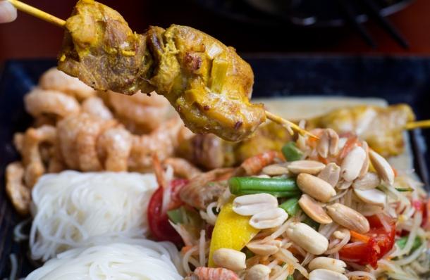 Papaya Chicken Salad