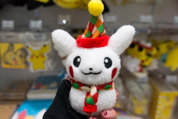 Snowman Pikachu