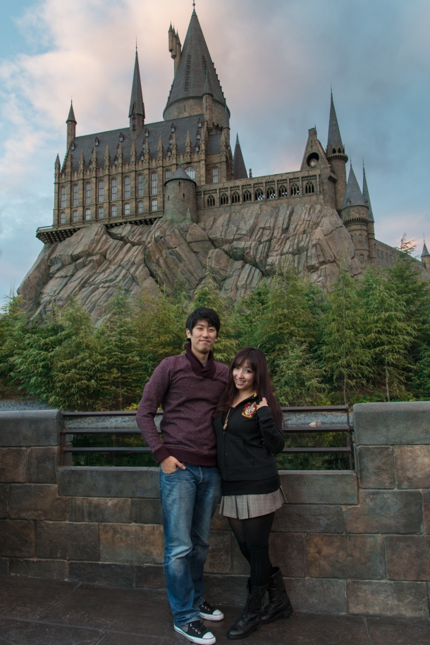 Couple Hogwarts