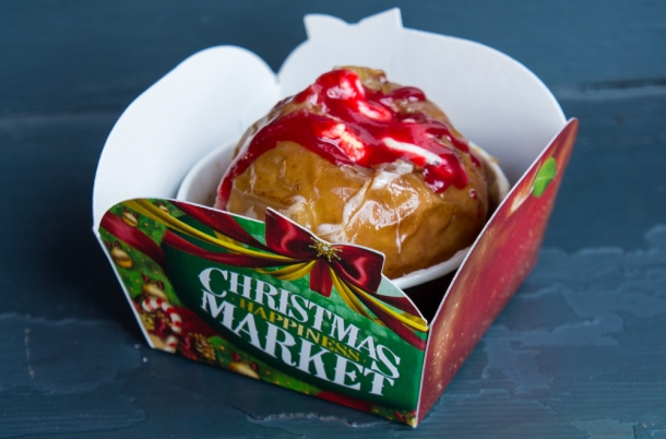 Winter Special Christmas Baked Apple