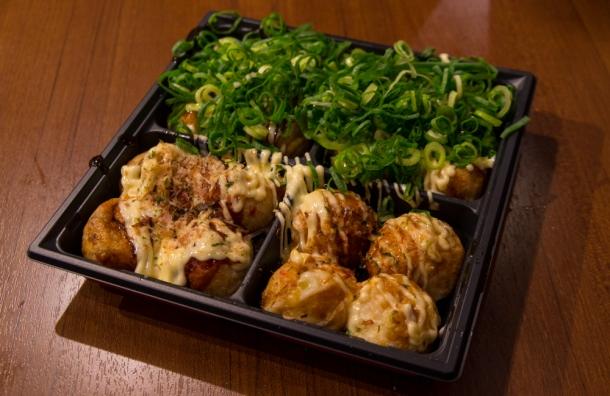 Takoyaki Sampler