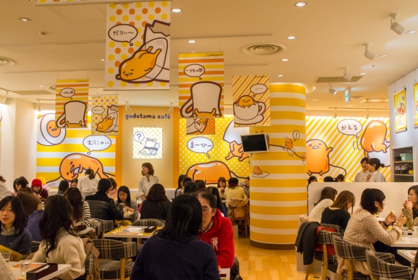 Gudetama Cafe (Interior)