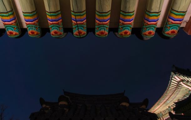 경복궁 (roof)