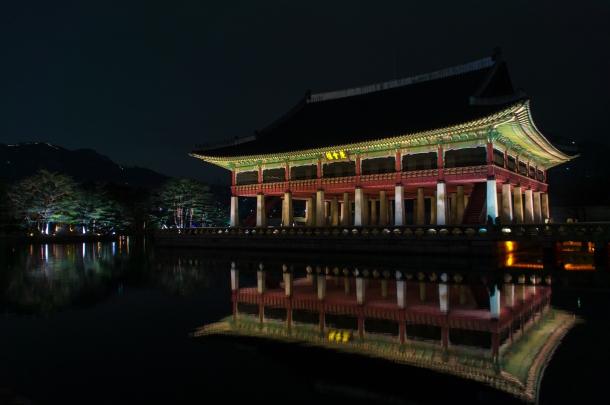 경복궁 (lake)