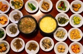 Traditional Korean Food @ 시골밥상 (Sigol Bapsang)