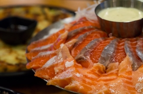 연어상회: All You Can Eat Salmon Sashimi