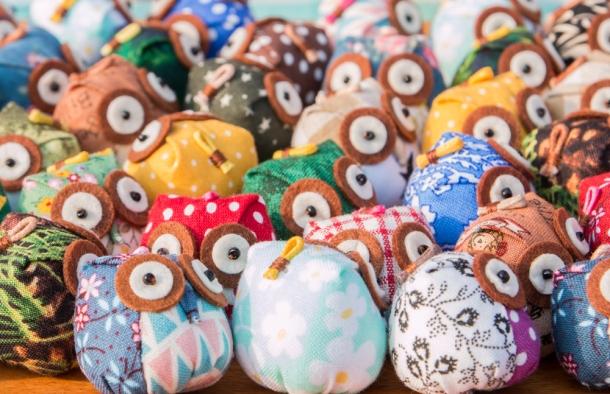 Handmade Owls