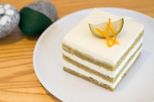 Jeju Citrus Sudachi Cake