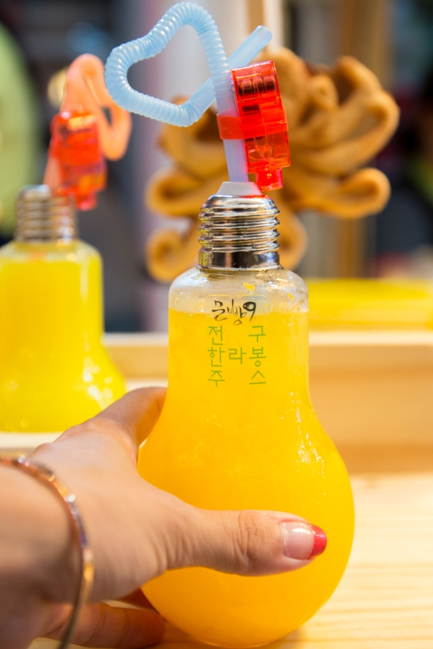 Tangerine Juice Lightbulb