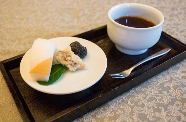 수삼 대추 튀김과 꿀