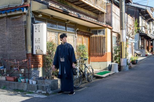 Boyfriend's Kimono Selection