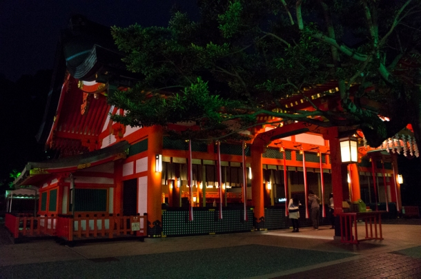 Fushimi Inari-taisha @ Night
