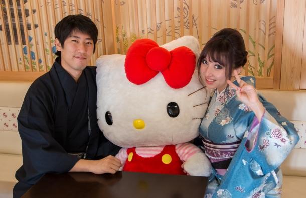 Tea with Hello Kitty