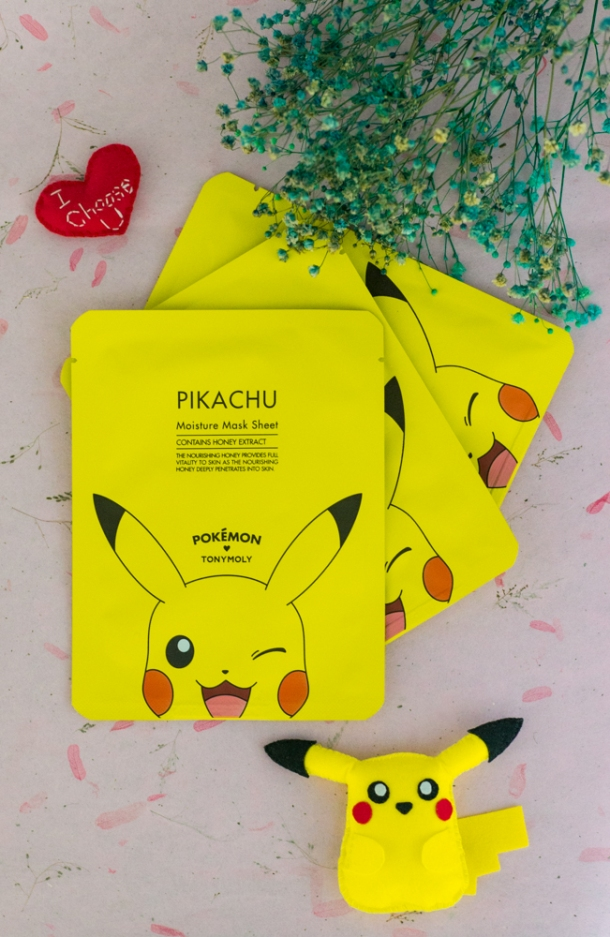 Pikachu Moisture Mask Sheet