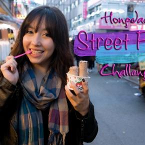 Hongdae Street FoodChallenge