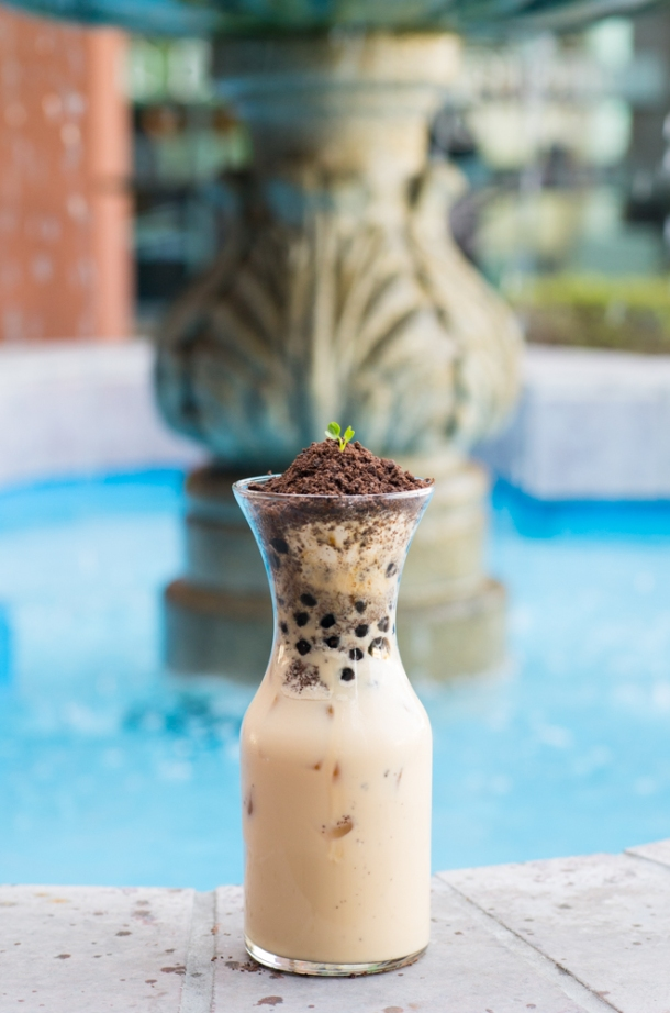 Potted Plant Milk Tea