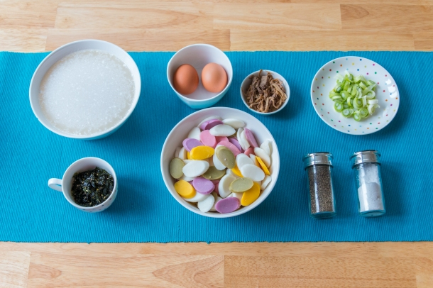 Tteokguk Ingredients