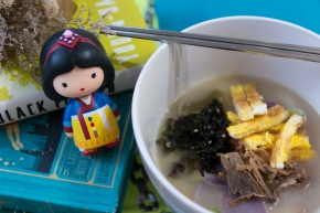 Quick & Easy Lunar New Year Rice Cake Soup (떡국)
