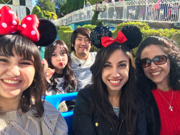 It's A Small World Selfie