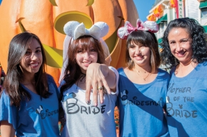 A Disney Halloween Bridal Shower